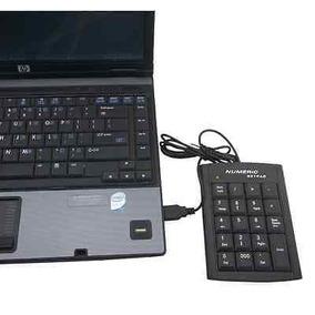 Usb De 19 Teclas Numérico Número Teclado Teclado Para Laptop