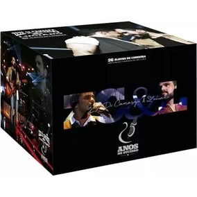 Coletanea Zeze Di Camargo & Luciano Box 26 Cds Original Novo