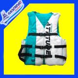 Colete Salva Vidas Importado Azul/branco Até 120kg