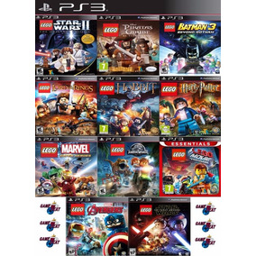 Lego Ps3 Collection | Digital Español Elegí 3 Juegos Lego!