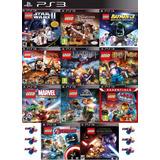 Lego Ps3 Collection | Digital Español Elegí 3 Juegos Lego!