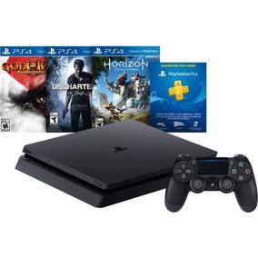 Play 4-slim 3 Juegos-control -500gb Nueva 3 Meses Online