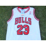 Jersey Bulls De Chicago Blanca Michael Jordan 23 Toros