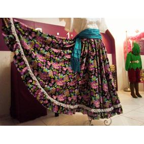 Falda Folklorica Talla 34 - Faldas Largas Circulares 34 en Mercado ... b2b4b779211d