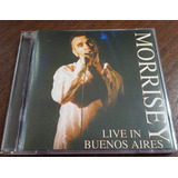 Morrissey Live In Buenos Aires 2000 Cd The Smiths The Cure