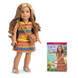 Muñeca American Girl Lea Clark Y Libro