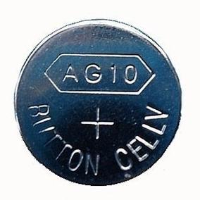 10 Pilas Baterias Reloj Ag13 357a Cx44 Lr44w Alkalina 1.5v