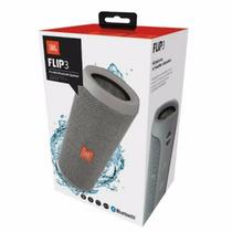 Jbl Flip 3 Speaker Caixa De Som Portatil Bluetooth Cinza