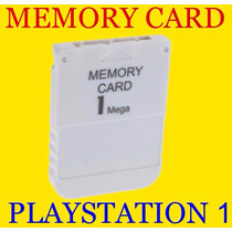Memory Card Playstation 1 Ps1 Psone Psx Novo