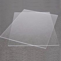 Folha De Acetato Transp. 1 Metro X 50 Cm - 1mm De Espessura