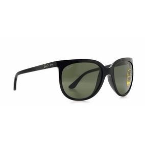 Lentes Gafas Ray Ban Cats 1000 Rb4126 Negros Dama Rayban