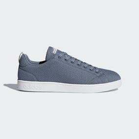 Tenis adidas Vs Advantage Clean Azul 25.5-28.5 Originales