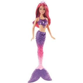 Boneca Barbie Reinos Mágicos - Sereia Do Reino Dos Diamantes