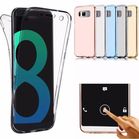 Funda Tpu Samsung Galaxy S8 Y S8 Plus + Tpu Doble 360 Full