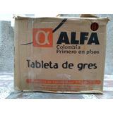 Tableta Etrusca Roja De Alfa Gres, Guardaescoba