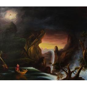A Viagem Da Vida Thomas Cole - Pintura Óleo - Pintura Óleo S