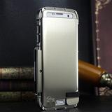 Samsung Galaxy De Lujo Resistente Armadura De Metal A Prueba