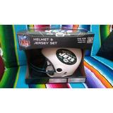 Casco Y Playera Franklin Sports Nfl New York Jets