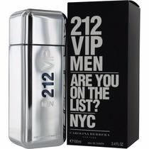 Perfume 212 Vip Men 100ml Original Lacrado+ Frete Sem Juros