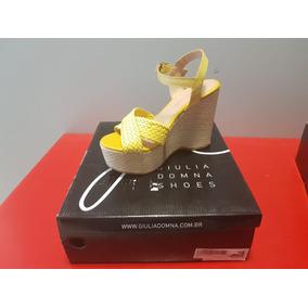 Sandalias De Mujer Giulia Donna Amarillas Para El Verano