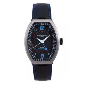 Reloj Montres De Luxe Gmt Estremo Nuevo ! Made In Italy