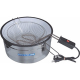Fritadeira Elétrica Fritania 3l Aro Inox Esmaltada 127v 0095