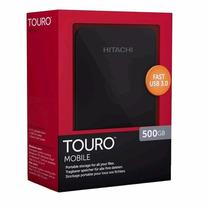 Disco Rígido Externo 500gb Usb 3.0 Hitachi Touro