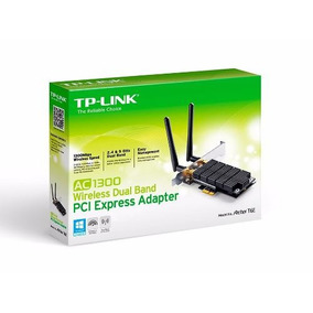 Placa Wifi Red Pci-e Tp-link Archer T6e Ac1300 Dual Band