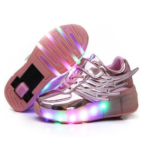Tenis Patin Con Luz Led