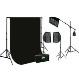 Estudio Kit Profesional De Iluminacion Video /fotografia Vbf