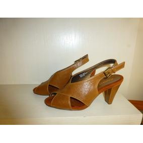 Zapato Mujer Café Chalas N°38,5 Marca Aerosoles