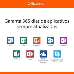 Office 365 (2018) Onedrive 5tb 5 Pc Ou Mac 5 Celular 5 Table