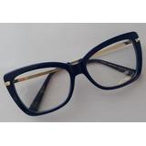 Armação Grau Óculos Marc Jacobs Azul Bic Show 9ce68a8cf8