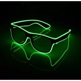 Óculos Neon Led Fumê Festa Balada Rave Tomorrowland A Pilha 8bf09173db