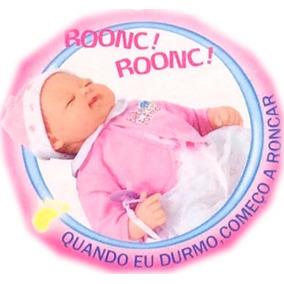 Boneca Bebe Fofucho-fofinho C Expressão Real,chora,ri,ronca