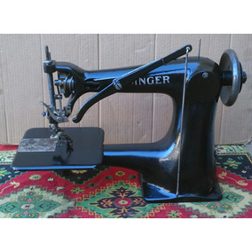 Máquina Costura Antiga Singer Sapateiro Esq Usa Promoção