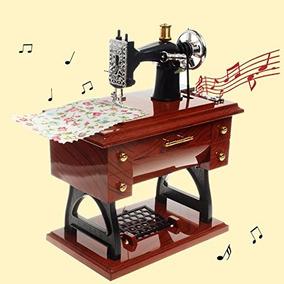 Caixa De Música Máquina De Costura