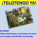 Tarjeta Tablero Electrónico Para Motor Puertas Automáticas