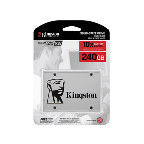 Disco Solido Kingston 240gb Ssd Uv400 Ultima Generacion