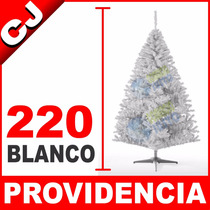 Arbol De Navidad Blanco Mate 220 Providencia Envio Inmediato