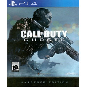 Call Of Duty Ghosts Hardened Edition Combo Ps4 Caja Sellada