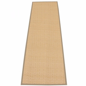 Tapete Passadeira Bambu 1,80x0,60 Decoração Bege