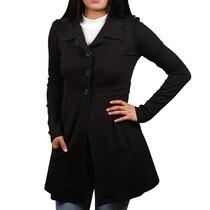 Abrigo 3 Botones Invierno Moda Casual Frio Para Mujer Dama