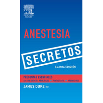 Libro: Anestesia. Secretos - James C. Duke - Pdf