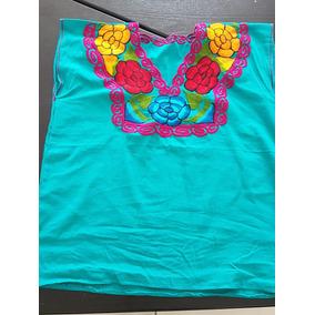 2 Blusas Bordadas Tipicas De Chiapas