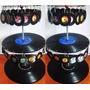Zarcillo Retro Mini Discos Acetato Vinilo Lp Originales Moda