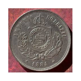 Moeda 200 Réis De 1884