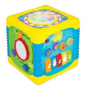 Winfun Cubo De Actividades Para Bebe Con Luz Y Sonido