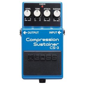 Pedal De Guitarra Cs-3 Compressor Sutainer - Cs3 Boss C/nfe