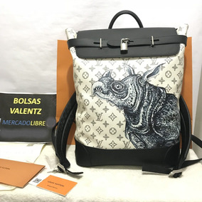 Mochila Louis Vuitton Steamer Chapman Brothers Lv Unica Rara